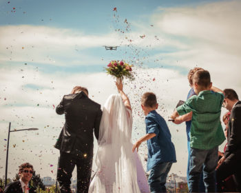 Tips for the Best Drone Wedding Photography